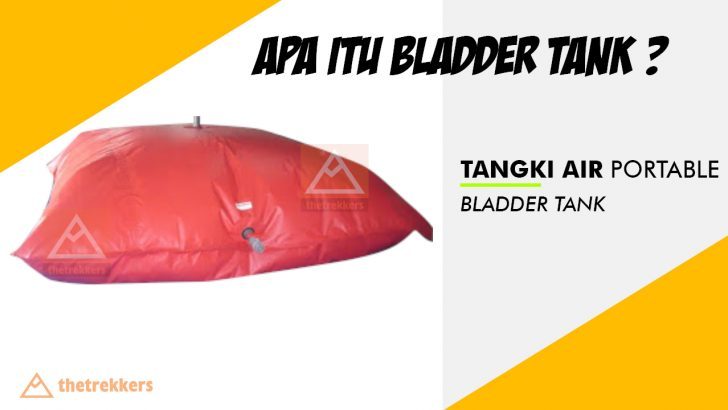 tangki air bantal, pillow tank