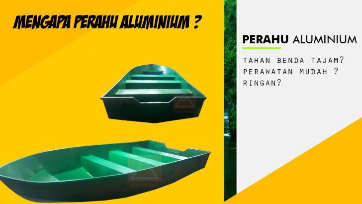 perahu aluminium
