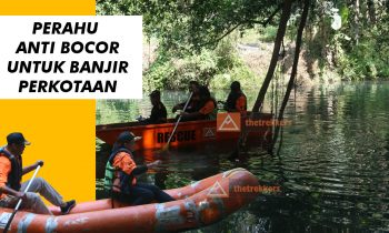 perahu anti bocor untuk banjir perkotaan