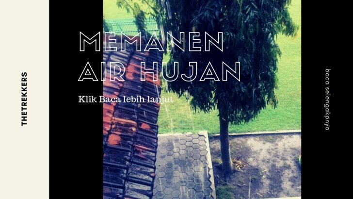memanen air hujan